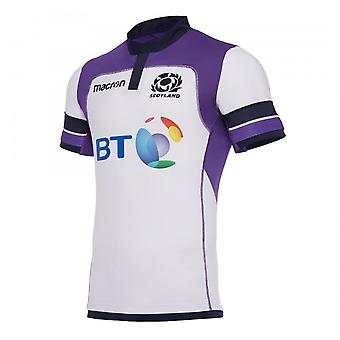 2017-2018 Schottland Alternative authentische Pro Körper Fit Rugby Shirt