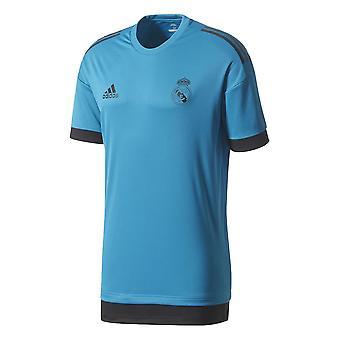 2017-2018 real Madrid Adidas EU maglia da allenamento (vivido Teal)