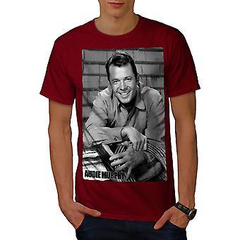 Murphy Celebrity Audie mannen RedT-shirt | Wellcoda