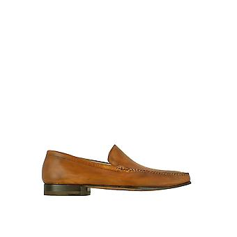 Pakerson men's 1100111051109 brown leather moccasins