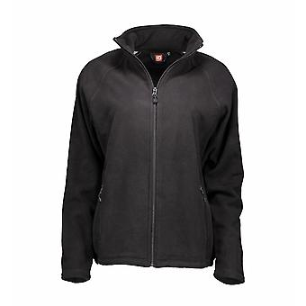 ID Womens/Ladies Microfleece Full Zip Cardigan