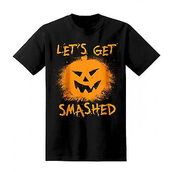 The T-Shirt Factory Mens Lets Get Smashed T-Shirt