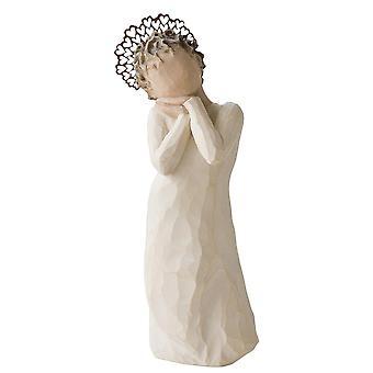 Willow Tree engel kærlighed hånd malet figur