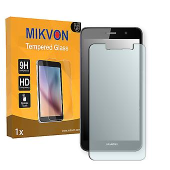 Huawei Y6 Pro Screen Protector - Mikvon flexible Tempered Glass 9H (Retail Package with accessories)