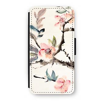 Samsung Galaxy S8 Plus Flip Case - Japenese flowers