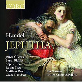 Händel / Christophers / seksten - Jephtha [CD] USA import