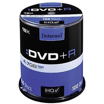 Blank DVD+R 4.7 GB Intenso 4111156 100 pc(s) Spind