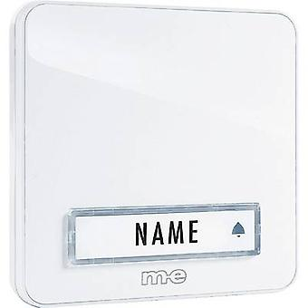Bell panel with nameplate 1x m-e modern-electronics KTA-1 W