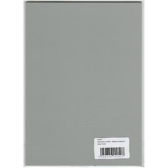 Hunydory Adorable Scorable A4 Cardstock -Silver Frost AS940