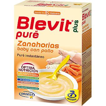 Blevit Blevit Plus Puré Baby carrot and Chicken (Childhood , Healthy diet , Cereals)