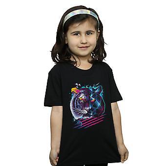 Vincent Trinidad Mädchen Rad Tiger T-Shirt