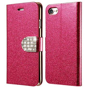 Glittery Wallet case for iPhone 8!