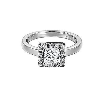 ESPRIT women's ring silver zirconia Stylic ESRG91612A1