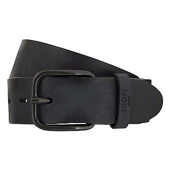 JOOP! Belts men's belts leather belt blue 3750