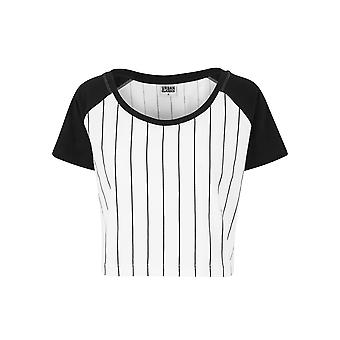 Urban classics ladies T-Shirt cropped baseball