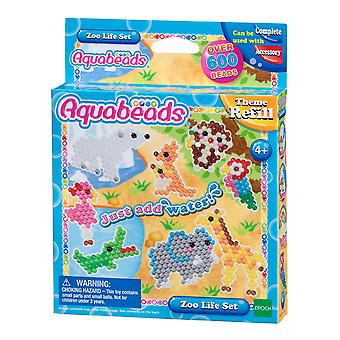 Aquabeads 31078 Zoo Life Set, Multi-Colour
