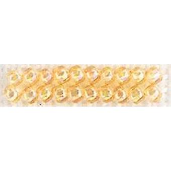Mill Hill Glass Seed Beads 4.54g-Crystal Honey