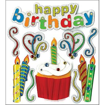 Jolee's Boutique Dimensional Stickers-Happy Birthday