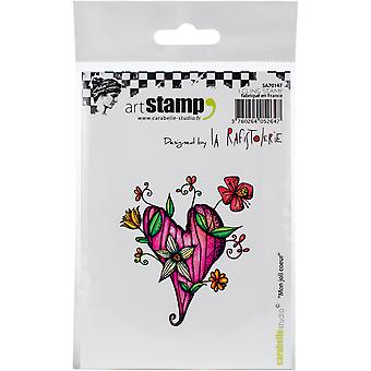 Carabelle Studio Cling Stamp A7 By La Rafistolerie-My Pretty Heart
