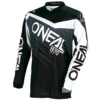 Oneal Black-Grey 2018 Element Racewear Kids Long Sleeved MTB Jersey