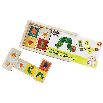 Rainbow Designs The Very Hungry Caterpillar Wooden Dominoes