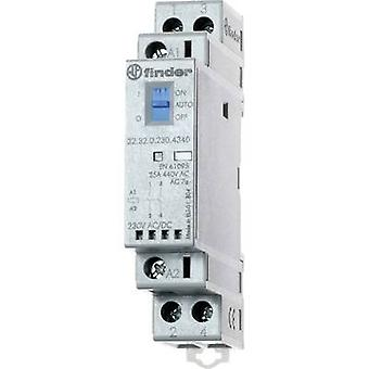 Finder 22.32.0.024.4540 Contactor 1 pc(s) 1 maker, 1 breaker 24 Vdc, 24 V AC 25 A