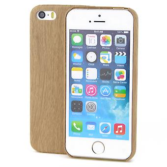Apple iPhone 8 TPU Mobile Shell wood optics protection case bamboo cover