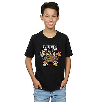 Scoobynatural Boys Characters Star T-Shirt