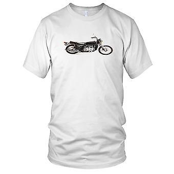 Honda Goldwing G1000 Classic Motorcycle Biker Mens T Shirt