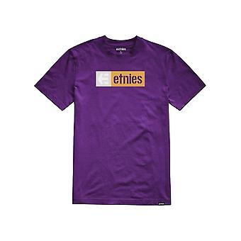 Etnies nuevo caja manga corta camiseta