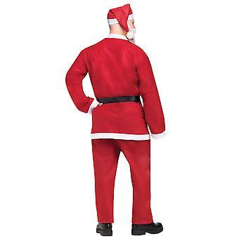 Pub Crawl Bar Santa Claus Chirstmas Summer  Men Costume