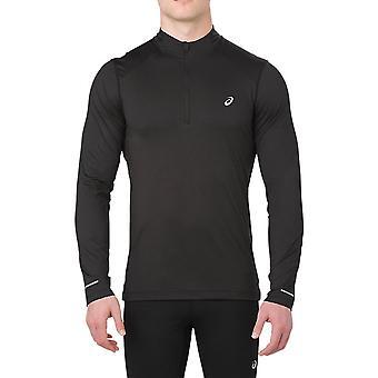 Asics długie 1/2 Zip Koszulka Top do biegania