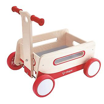 Hape-Wonder Wagon-wooden walking car