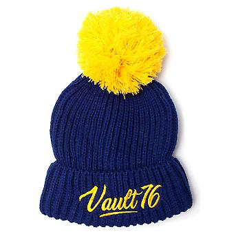 Fallout Beanie Hat Vault 76 logo Bobble new Official PS4 Xbox Blue
