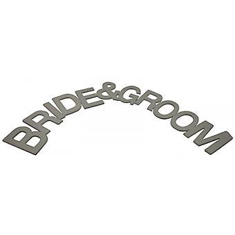 Gisela Graham Bride and Groom Wedding Day Decorative Garland
