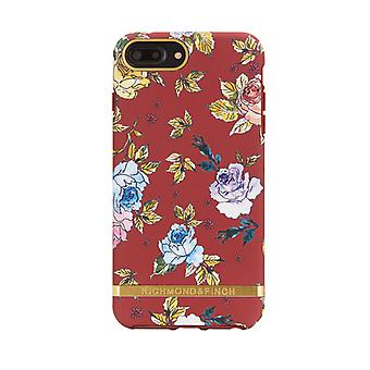 Richmond & Finch covers for IPhone 6/7/8 Plus-Red Floral