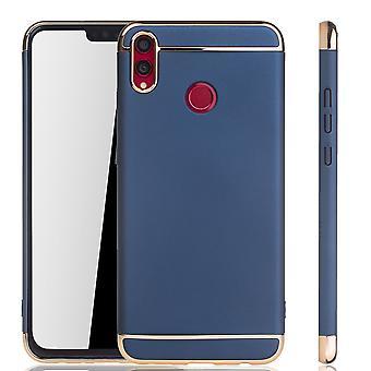 Huawei honor 8 X celtelefoon cover case bumper Hard Cover Blau
