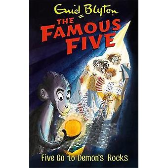 Five Go To Demon's Rocks - Book 19 by Enid Blyton - 9781444927610 Book