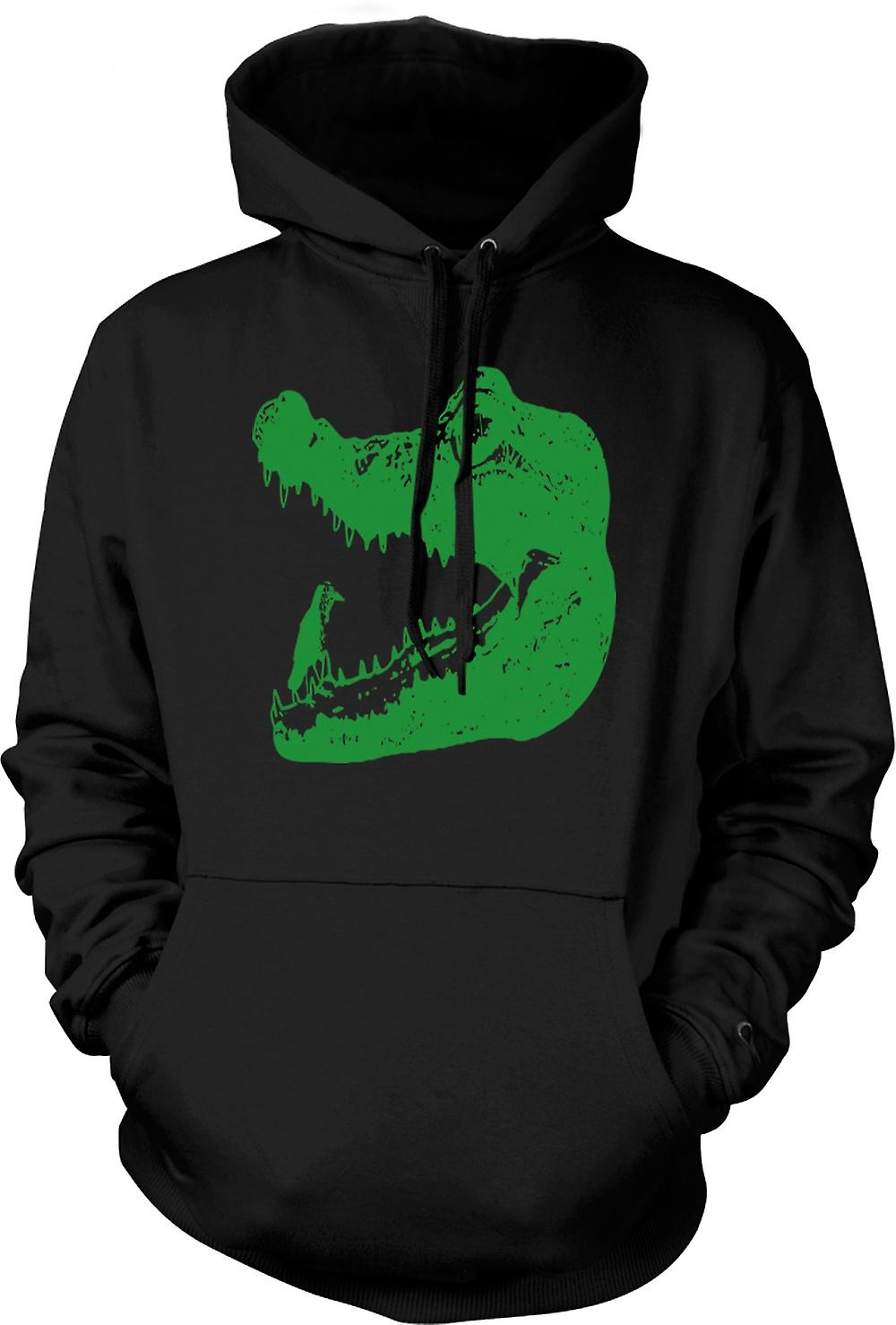 Kids Hoodie - Cool Aligator Crocodile - Cool Graphic Design