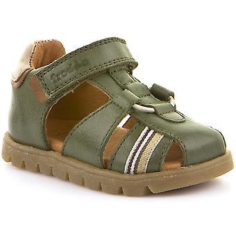 Froddo Boys G2150099-4 lukket Toe sandaler Green