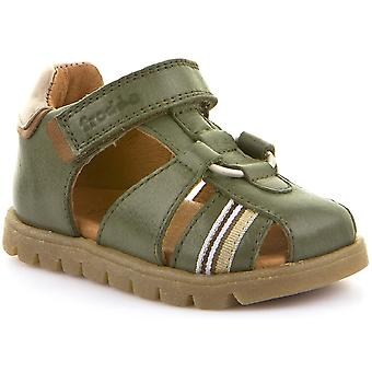 Froddo niños cerrados G2150099-4 sandalias verde