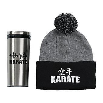 Century Karate Beanie and Tumbler Set