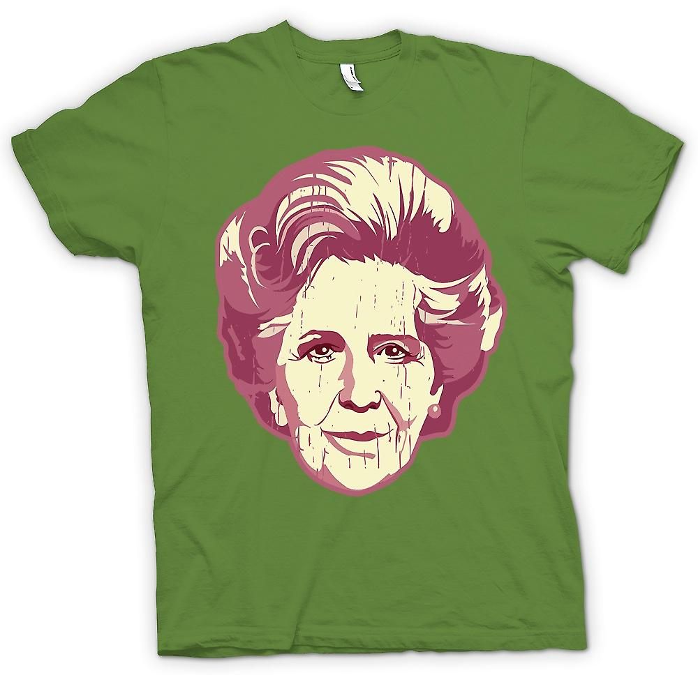 Mens T-shirt - Margaret Thatcher Pop Art