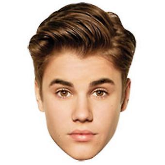 Justin Bieber Karten Face Mask Set aus 6