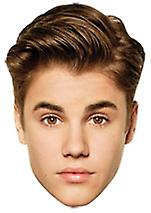 Justin Bieber Card Face Mask Set of 6