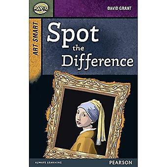 Rapide décor 8 a: Art Smart: Spot the Difference! (Niveaux supérieurs rapides)