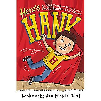 Bookmarks Are People Too! (Here's Hank)