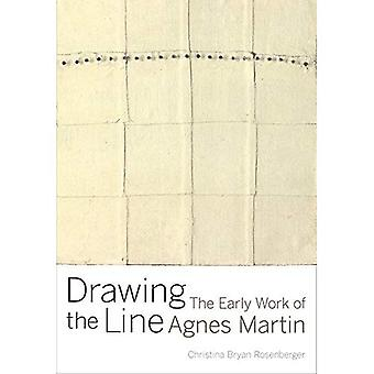 La línea de dibujo: el trabajo temprano de Agnes Martin