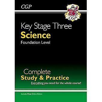 Nouvelle étude complète de la Science KS3 & pratique - fondation