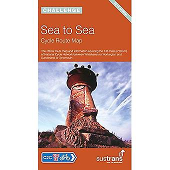 Sea to Sea Cycle Route Map: NCN C2C (National Cycle Network Route Maps)